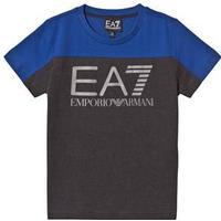 Emporio Armani EA7 Print T-shirt Blå/Charcoal 8 years