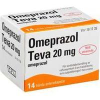 omeprazol pensa 20 mg receptfritt