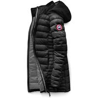 Canada Goose Brookvale Hooded Coat W Black/Graphite (Storlek S)