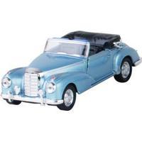 Bil i metall - Mercedes Benz 300s (1955) - blå cab