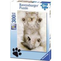 Ravensburger Pussel Den kramgoa kattungen 300 bitar XXL