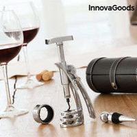 InnovaGoods Screwpull Wine Set (4 Pieces)