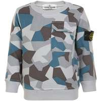 Stone Island Junior Boys Sweatshirt - Camo (522347-0003) 81505f074c23d