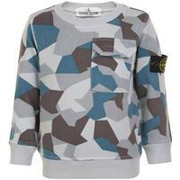 Stone Island Junior Boys Sweatshirt - Camo (522347-0003)