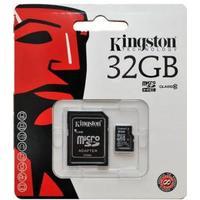 Kingston microSDHC Hukommelseskort 32GB - 2i1 - klasse 10 (MicroSD inkl. SD Adapter)