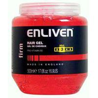 Enliven Hair Gel - Firm hold - 500ml