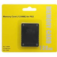 ZedLabz 128MB memory card for Sony PS2, Playstation 2 PS2 Slim retail pack black