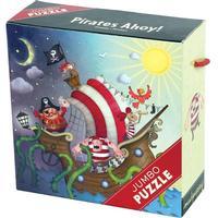 Mudpuppy puslespil pirater på skib