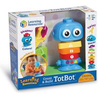 Learning Resources Count & Build TotBot