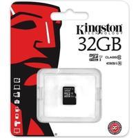 Kingston - Flashhukommelseskort Micro SD Kort 32GB Class 10