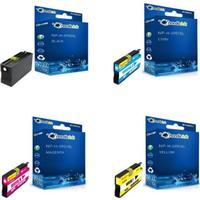 NORDICINK Paket: Svart, Cyan, Magenta, Gul NP-H-0950XLMP