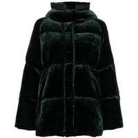Moncler Butor Velvet Padded Coat