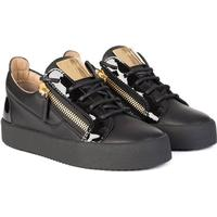 Womens Classic London Low Sneakers Black