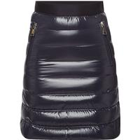 Moncler Gonna Mini Skirt with Down Filling