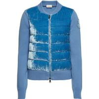 Moncler Cardigan with Wool, Cashmere and Silk