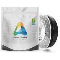 Addnorth PETG-filament för 3D-skrivare 1,75 mm Svart