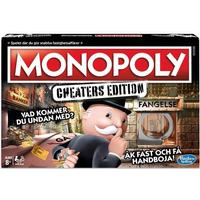 Hasbro Monopol - Cheaters Edition (Sv)