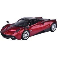 MotorMax Leksaksbil 1:24 Pagani Huayra, Metallic Röd