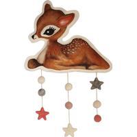 Dessin Design Vægdekoration Bambi, Lyserød