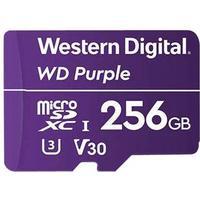 WD Purple WDD256G1P0A - flashhukommelseskort - 256 GB - microSDXC