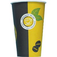 Papbæger Coffee-Cup 40cl Ps/50 Exclusiv Hot