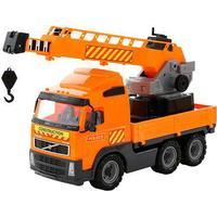 Wader - Volvo Lastbil med Kran på Lad