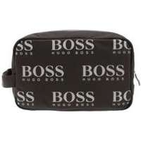 Boss Athleisure Mens Black Iconic Logo Washbag 78d220aaf4f0b
