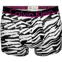 Calvin Klein ID Cotton Trunk - Black/Pink