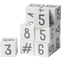 Sebra Wooden Number Blocks 12pcs