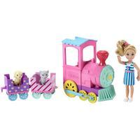 Mattel Barbie Club Chelsea Doll & Choo-Choo Train Playset