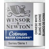 Winsor & Newton Cotman Water Colours Chinese White Half Pan