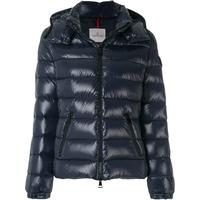 Moncler Bady Laque Nylon Down Jacket - Navy