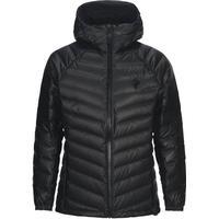 Peak Performance Frost Dry Down Hooded Jacket - Black