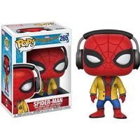 Funko Pop! Movies Spiderman Homecoming Spiderman with Headphones