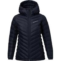 Peak Performance Pertex Frost Down Hooded Jacket - Artwork Blue