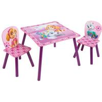 Hello Home Paw Patrol Skye Table and Chairs