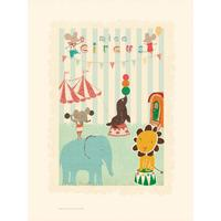 Maileg Poster Circus Mouse & Friends