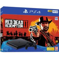 Sony PlayStation 4 Slim 500GB - Red Dead Redemption II