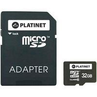 Platinet MicroSDHC Class 10 32GB +Adapter