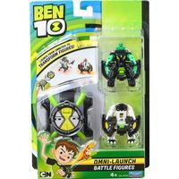 Playmates BEN 10 Omni Launch Battle Figures