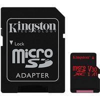Kingston Canvas React microSDXC Class 10 UHS-I U3 V30 A1 100/80MB/