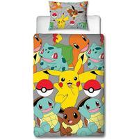 Pokémon Catch Single Duvet Set (135x200cm)