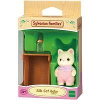 Sylvanian Families Silk Cat Baby