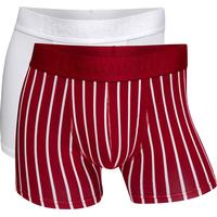 Resteröds Gunnar Bamboo Boxer 2-pack - Red/White