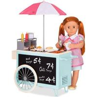 Our Generation Retro Hot Dog Cart
