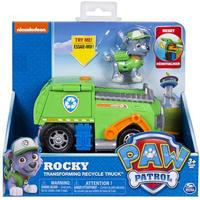 Spin Master Paw Patrol Rocky's Transforming Recycle Truck