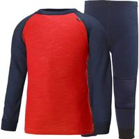 Helly Hansen K Lifa Merino Set - Evening Blue