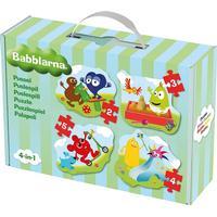 Babblarna Baby Puzzle 4 in 1 14 Pieces