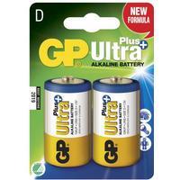 GP Ultra Plus Alkaline D Compatible 2-pack