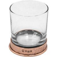 English Pewter Hammered Tumbler glas 32.5 cl